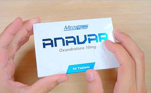 Anavar (Oxandrolone) 10 mg
