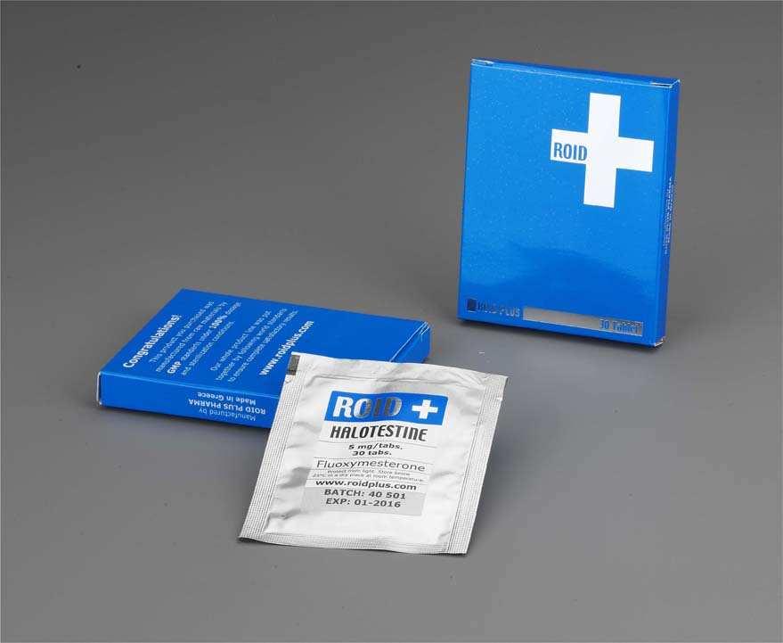 Halotestin Dosages